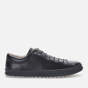 Camper Men's Chasis Leather Low Top Trainers - Black