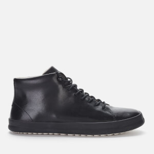 Camper Men's Chasis Leather Hi-Top Trainers - Black