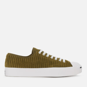 Converse Men's Jack Purcell Wide Wale Cord Ox Trainers - Surplus Olive/White/Black
