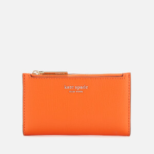 Kate Spade New York Women's Sylvia Small Slim Bifold Wallet - Juicy Orange