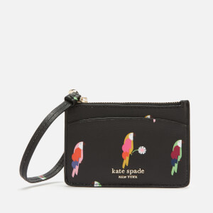 Kate Spade New York Women's Sylvia Card Holder Wristlet - Black Multi