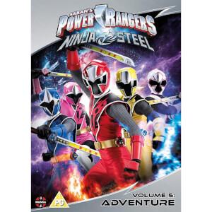 Power Rangers Ninja Steel: Adventure (Volume 5) Episodes 17-20 & Christmas
