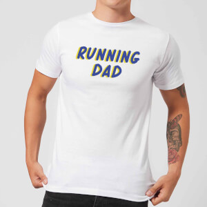 Running Dad Men's T-Shirt - White