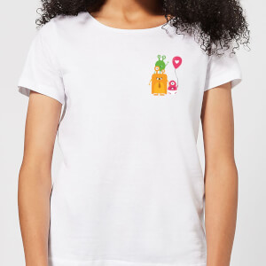Monster Family Women's T-Shirt - White