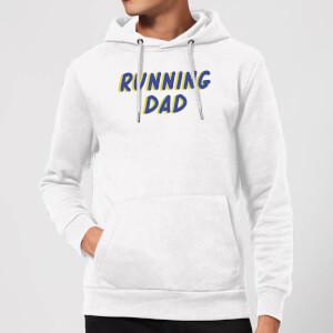 Running Dad Hoodie - White