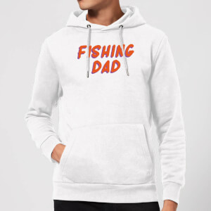 Fishing Dad Hoodie - White