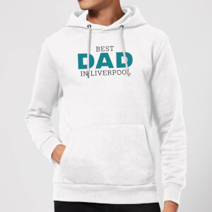 Best Dad In Liverpool Hoodie - White
