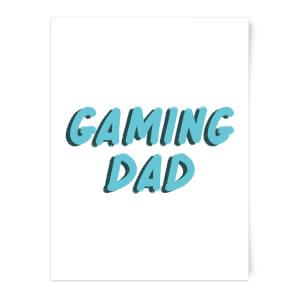 Gaming Dad Art Print
