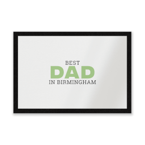 Best Dad In Birmingham Entrance Mat