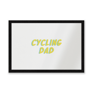 Cycling Dad Entrance Mat