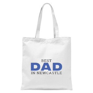 Best Dad In Newcastle Tote Bag - White
