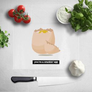 You're A Crackin' Egg Chopping Board