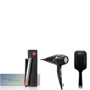 ghd Festival Gold Styling Collection with Paddle Brush