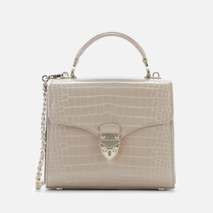 Aspinal of London Women's Mayfair Midi Bag - Soft Taupe