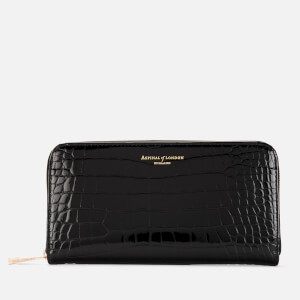 Aspinal of London Women's Continental Purse - Black