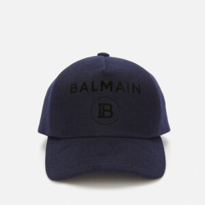 Balmain Men's Logo Cap - Marine