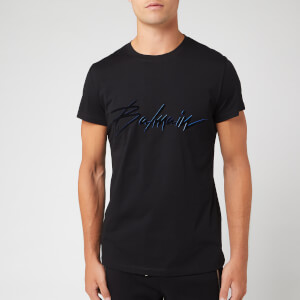Balmain Men's Signature T-Shirt - Noir