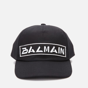 Balmain Men's Badges Cap - Noir