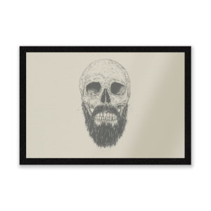 Bearded Skull Entrance Mat