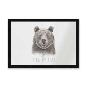 Ring My Bear Entrance Mat