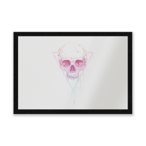 Colourful Skull Entrance Mat
