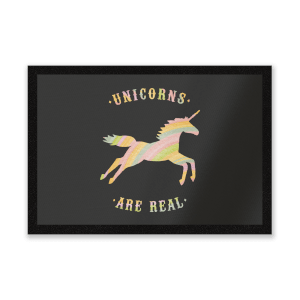 Unicorns Are Real Entrance Mat