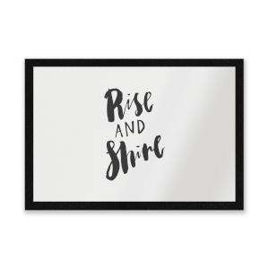 Rise And Shine Entrance Mat