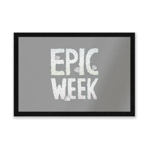 Epic Week Entrance Mat
