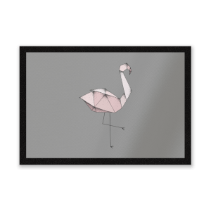 Flamingo Entrance Mat