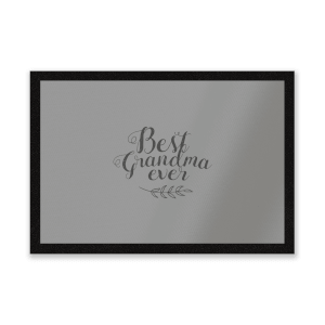Best Grandma Ever Entrance Mat