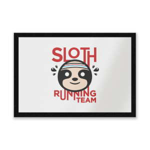 Sloth Running Team Entrance Mat