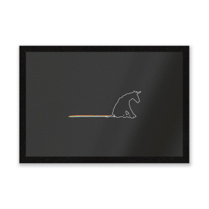 Unicorn Skid Mark Entrance Mat