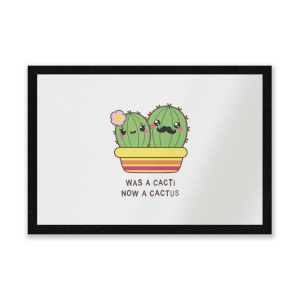 Was A Cacti, Now A Cactus Entrance Mat