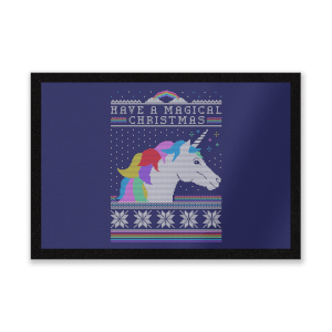 Have A Magical Christmas Fair Isle Entrance Mat