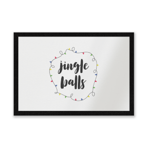 Jingle Balls Entrance Mat