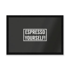 Expresso Yourself Entrance Mat