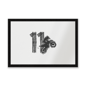 11 Motocross Entrance Mat