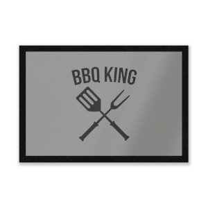 BBQ King Entrance Mat