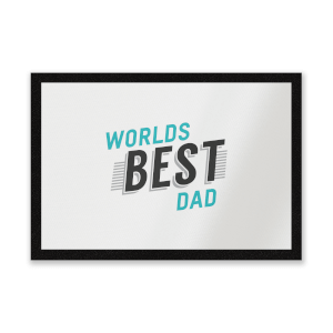 Worlds Best Dad Entrance Mat