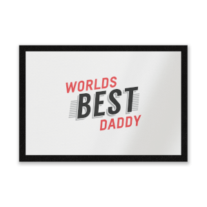 Worlds Best Daddy Entrance Mat