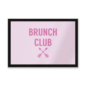 Brunch Club Entrance Mat