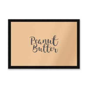 Peanut Butter Entrance Mat