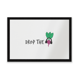 Drop The Beet Entrance Mat