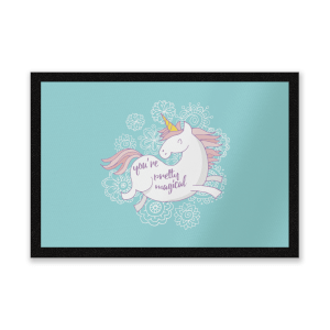 You Are Pretty Magical Unicorn Entrance Mat