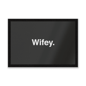 Wifey Entrance Mat