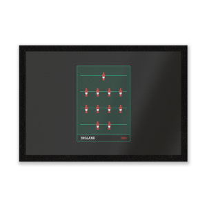 England Fooseball Entrance Mat