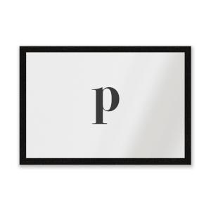 P Entrance Mat