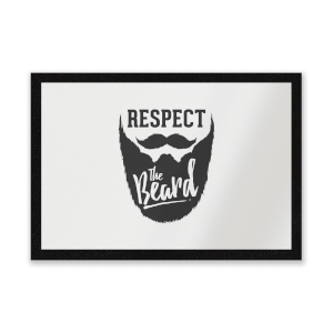 Respect The Beard Entrance Mat