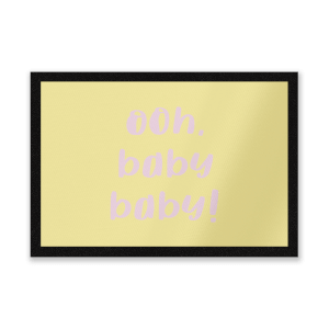Ooh Baby Baby Entrance Mat