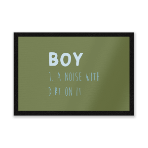 Boy Definition Entrance Mat